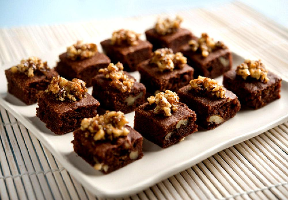 Receita do dia:  Brownie de Chocolate